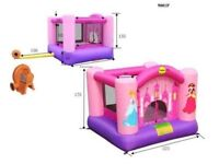 FANTASTIC BOUNCY CASTLE - with fan and carry bag - Goes up in 30 seconds