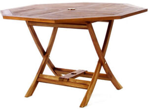 Teak Octagon Table - TO48-M108
