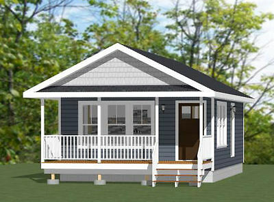18X30 Tiny House    540 Sq Ft    Pdf Floor Plan   Model 4A