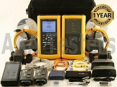 Fluke Dsp-4300 Cat6 Sm Mm Fiber Cable Tester Dsp4300