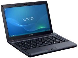 SONY VAIO 500GB HDD/4GB RAM/WINDOWS 7