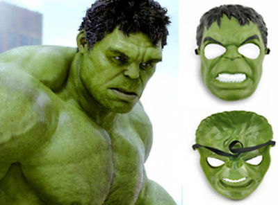 Hulk Mask for a Child- Use It For Dress Up - Halloween - Cosplay - Your Choice! (Hulk For Halloween)