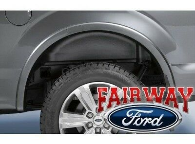 15 thru 19 F 150 OEM Genuine Ford Heavy Duty Rear Wheel Well House Liner Kit NEW