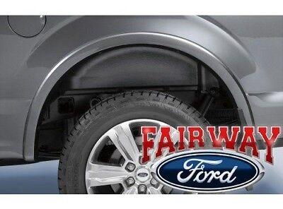 15 thru 19 F 150 OEM Genuine Ford Heavy Duty Rear Wheel Well House Liner Kit NEW
