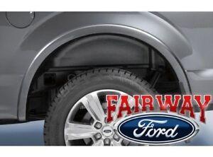 15 thru 19 F-150 OEM Genuine Ford Heavy Duty Rear Wheel Well House Liner Kit NEW