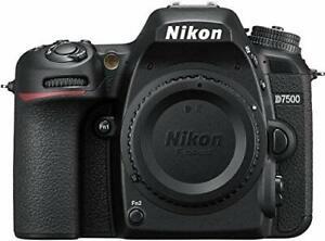 Nikon d7500 20.9mp 8fps camera body