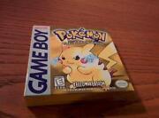 Pikachu Gameboy