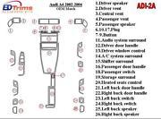 Audi A4 Aluminum Trim