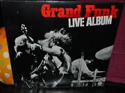 Grand Funk Live Album LP