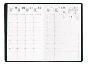Agenda-Semainier-Scolaire-2017-2018-c-Noir-Format-10x15-cm-NEUF-fr