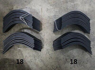 18 Each LH & RH Tiller Tines for Land Pride RTA2570-4 # 820-057C / 820-058C