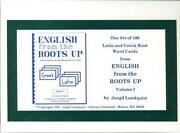 English from The Roots Up