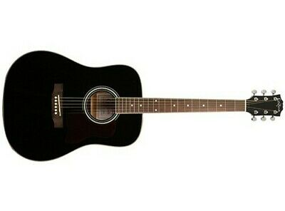 Carlo Robelli F640 Dreadnought Acoustic Guitar (Black)