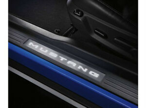 LED ILLUMINATED DOOR SILL PLATES for MUSTANG, Ford Accessory