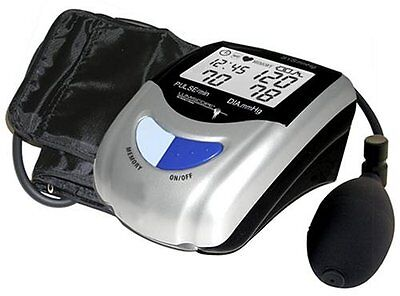 Lumiscope 1103 Semi-Automatic Blood Pressure Monitor with Date and Time