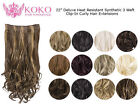 Weft Synthetic Hair Extensions