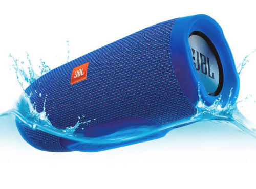 JBLCHARGE3BLU JBL Charge 3 Waterproof Portable Bluetooth Spe