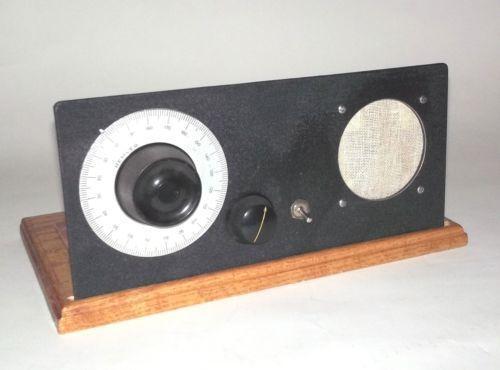 one tube radio ebay. Black Bedroom Furniture Sets. Home Design Ideas
