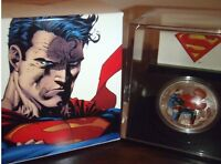 1 oz $20 Fine Silver Coin - Man of Steel - Mintage of 10k ONLY