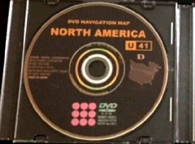 New 2017 Toyota Lexus Scion ENTIRE USACANADA U41 Navigation DVD GPS Map Update