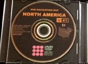 New 2017 Toyota Lexus Scion ENTIRE USA+CANADA U41 Navigation DVD GPS Map Update