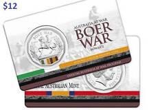 Australia At War Series - Boer War 50c UNC Granville Fraser Coast Preview