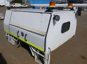 UTE CANOPY - ROSCOS TRADEMATE SUITS TOYOTA HILUX DUALCAB Bayswater Bayswater Area Preview