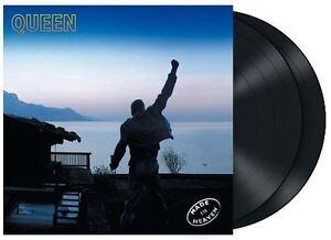 QUEEN : MADE IN HEAVEN 2 x 180G HEAVYWEIGHT LP BLACK DOUBLE VINYL HALF SPEED NEW
