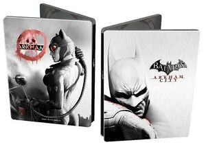 Batman-Arkham-City-Limited-Edition-Collectible-Steelbook-Playstation-3-Brand-NEW