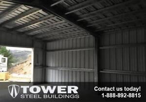Steel Buildings for garages, storage buildings, workshops, etc