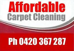 Affordable Carpet Clean 3 Rooms $75 Summer Special End of Lease Munno Para Playford Area Preview