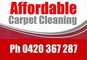Affordable Carpet Clean 3 Rooms $75 Spring Special End of Lease Munno Para Playford Area Preview