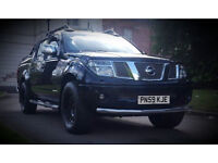 *REDUCED PRICED* 2009 59 NISSAN NAVARA 2.5 DCI TEKNA DOUBLE CAB NO VAT