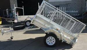 Trailer 7x4 With Cage & Spare Wheel  Hot Dipped Galvanized Maryborough Fraser Coast Preview