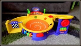 Car racing track- kids toy