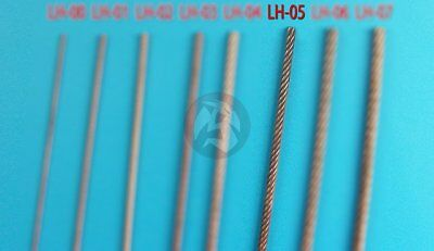 Eureka XXL Braided Metal Wire Rope Ø 1.25mm Tow Cable for AFV kits (50cm) LH-05 for sale  Shipping to India