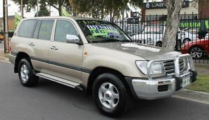2004 Toyota Landcruiser UZJ100R GXL (4x4) Gold 5 Speed Automatic Wagon Hillcrest Port Adelaide Area Preview