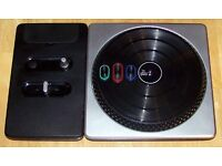 DJ Hero for Xbox 360 with wireless turntable controller