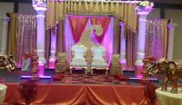 Mandaps Backdrop chair Covers and more....