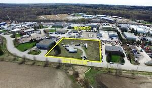 FOR RENT ONE ACRE INDUSTRIAL LAND AURORA RD AND WOODBINE
