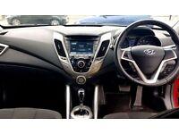 HYUNDAI VELOSTER 1.6 GDI 4d AUTO 138 BHP AUTOMATIC Brand New, Exoti (red) 2012