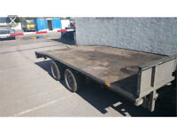 Ifor Williams 14ft car trailer