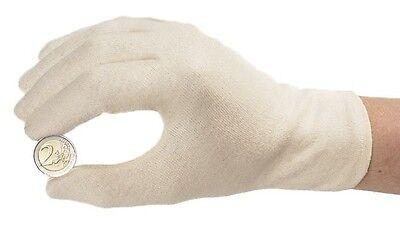Leuchtturm  Handschuhe für Münzen Baumwolle ungebleicht, Münzhandschuh (305929)