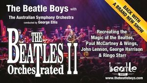 Great Seats Watching Beatles Orchestrated ll Coburg North Moreland Area Preview