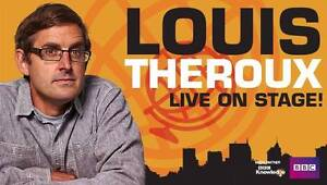 2 X Louis Theroux Live On Stage Tickets Melbourne SUN 25/9 @ 3PM Hobart CBD Hobart City Preview