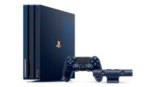 Limited edition 500 million ps4 pro