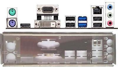 ATX Blende I/O shield Asus H81M Plus #557 io Z87K NEU OVP backplate bracket new