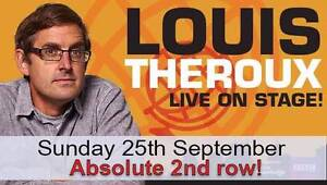 Louis Theroux - Absolute 2nd Row from Stage - Father's day!! Melbourne CBD Melbourne City Preview