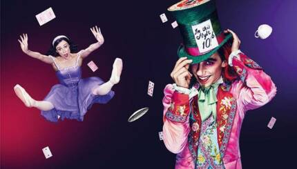 x2 Australian Ballet - Alice in Wonderland Tickets