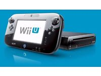 Wii U Boxed (Great Condition) 32GB Black 4 wii Remote Plus 1 Pro Controller and Nintendo Land